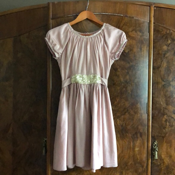 ffdfba57b960 Boden Dresses | Mini Borden 1112 Silk Rose Pink Dress | Poshmark